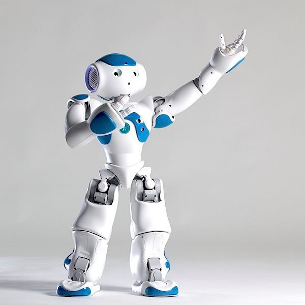 Developing humanoid robot animations in motion capture
